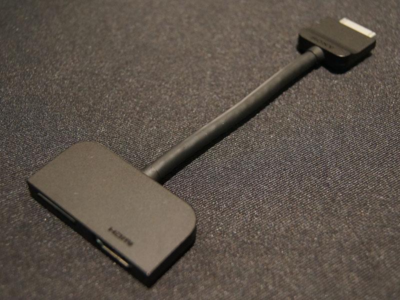 HDMI出力以外にマルチポートも延長されるアダプタ「SGPHC1」
