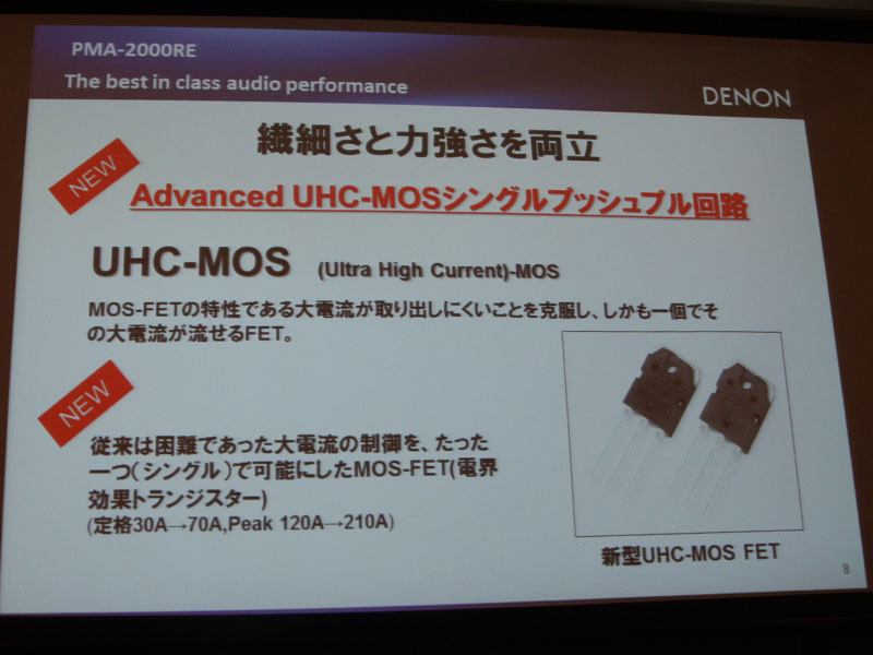 Advanced UHC-MOSを採用