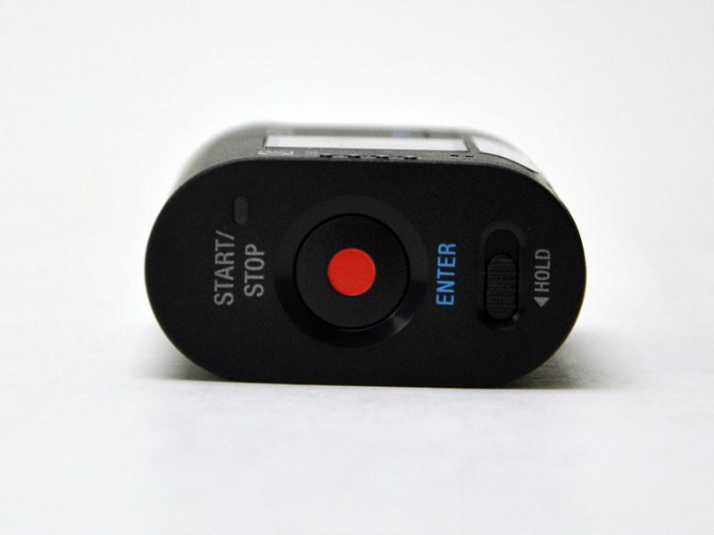 後方の録画開始ボタン