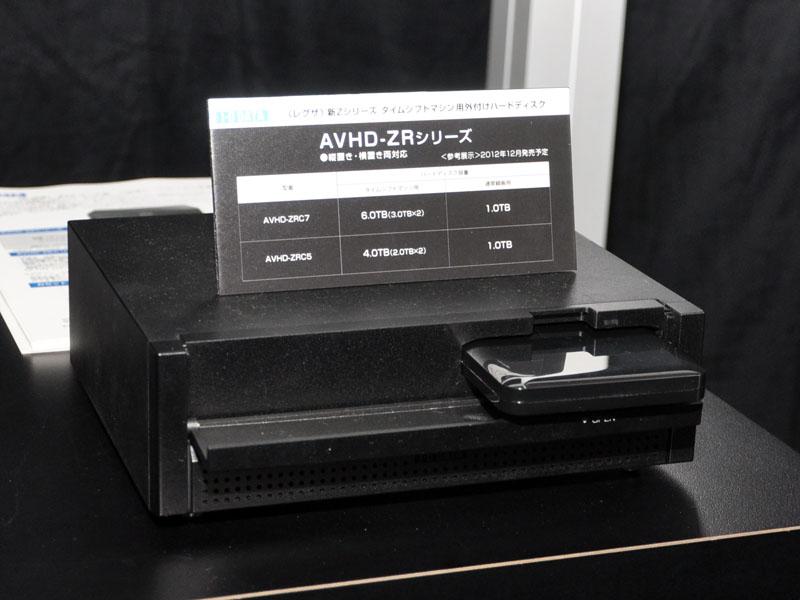 アイ・オーの「AVHD-ZRシリーズ」