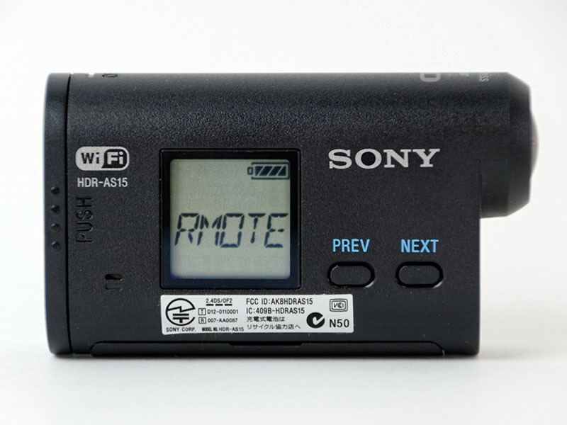 """映像プレビューもしくはカメラの設定変更を行なうときは""""SETUP""""から""""RMOTE""""を選び、""""ON""""にする"""