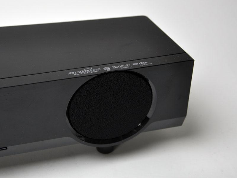 ヤマハ独自のバーチャルサラウンド技術「AIR SURROUND EXTREAME」や、AAC、ドルビーデジタル、dtsのサラウンド方式に対応