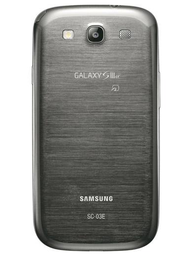 GALAXY SIII α SC-03E(Titanium Gray)