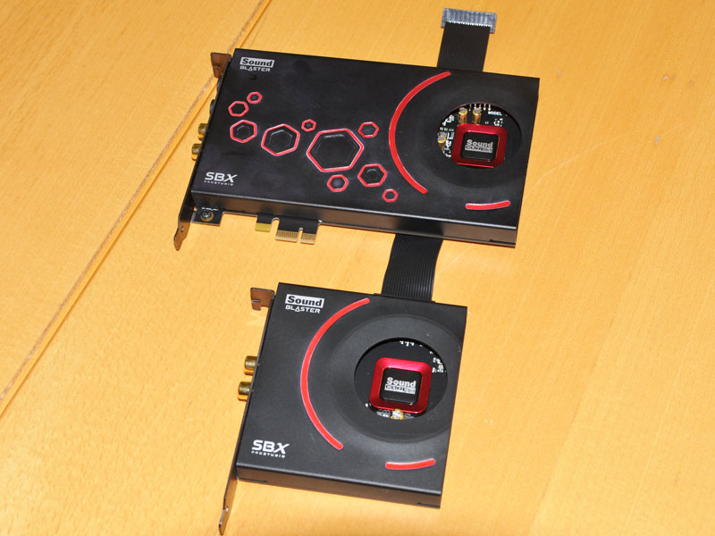PCIe Sound Blaster ZxR