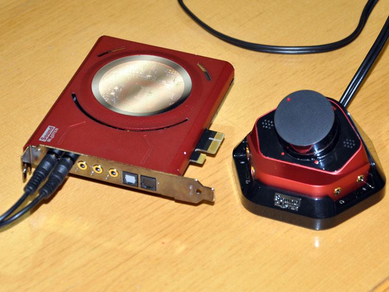 PCIe Sound Blaster Zx