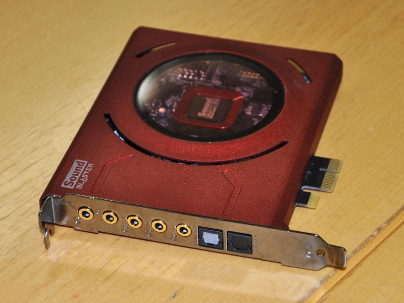 PCIe Sound Blaster Z
