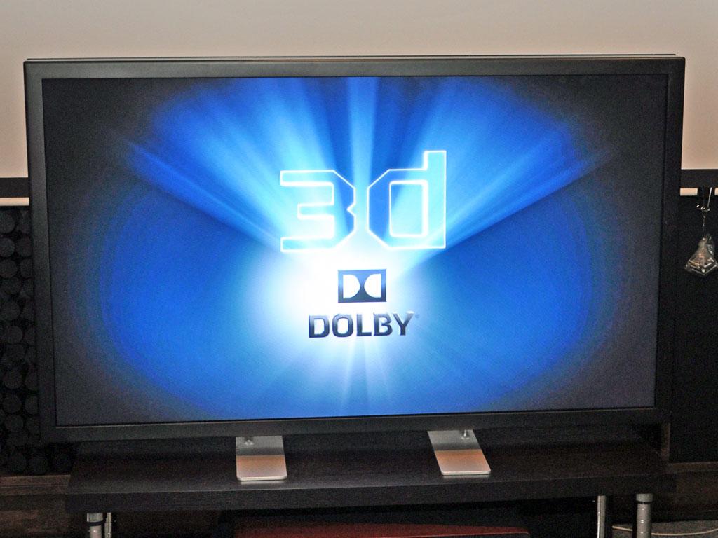 ドルビー3D対応のフィリップスの56型/4K裸眼3D液晶ディスプレイ