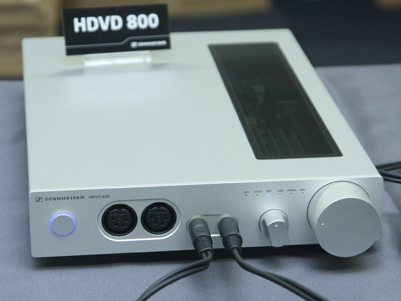 DAC内蔵のHDVD 800