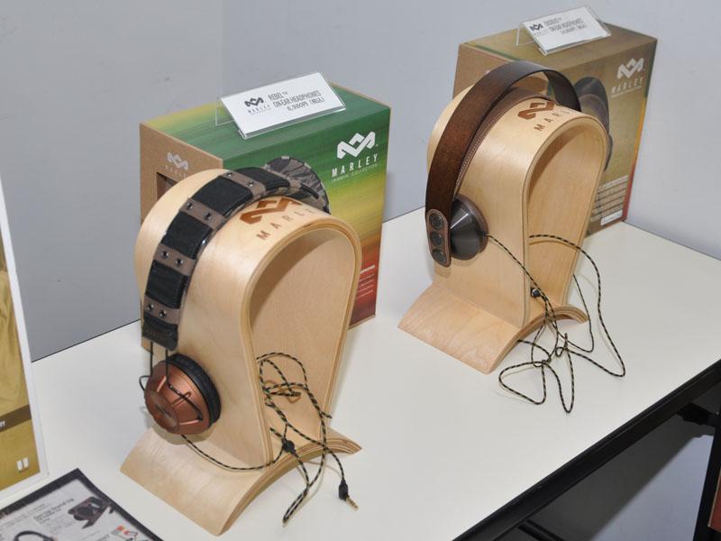 「House of Marley」のイヤフォン/ヘッドフォン新モデル