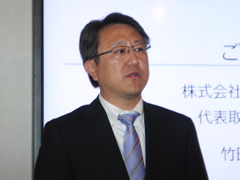 ロジクールの竹田芳浩社長