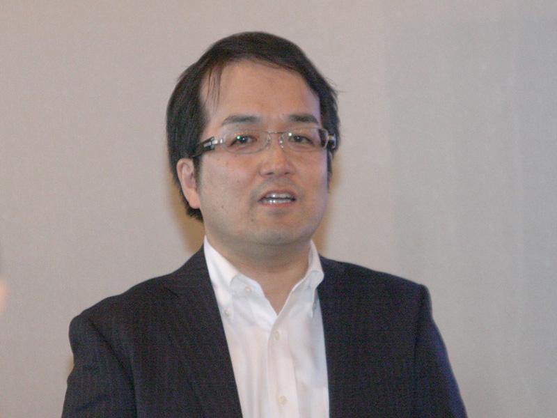 日本マイクロソフトの田中晃氏