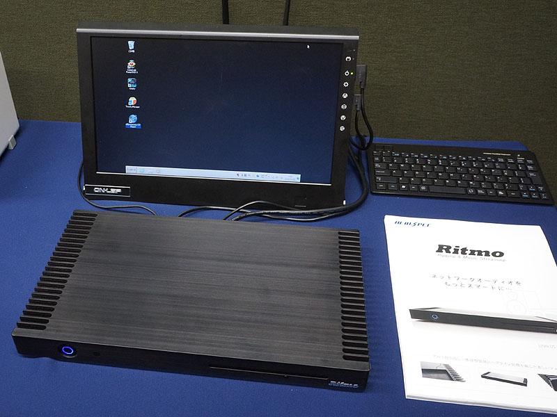 オリオスペックのファンレス静音パソコン「Ritmo」