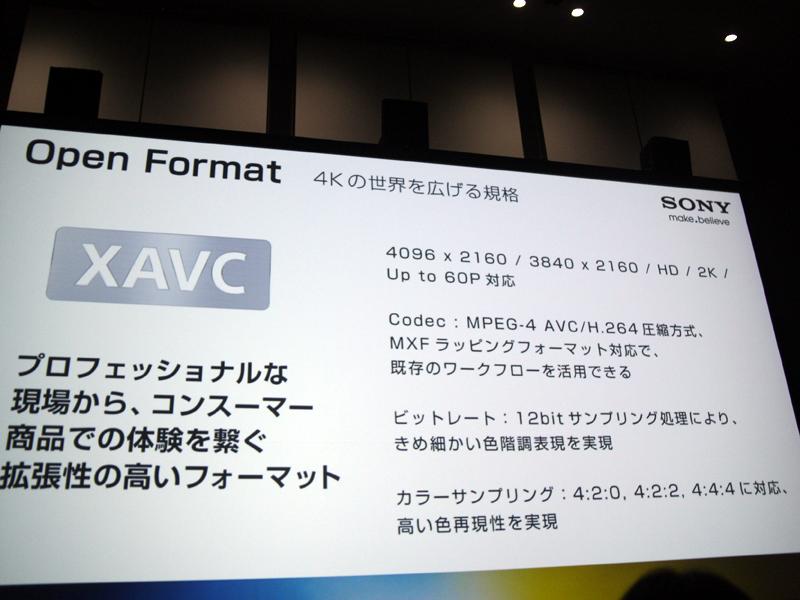 XAVCの概要
