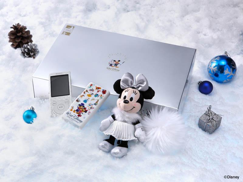 ウォークマン Sシリーズ Disney キャラクタークリスマスボックス2012