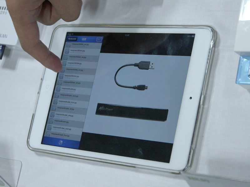 iOSアプリからSDカード内の写真などにアクセスできる