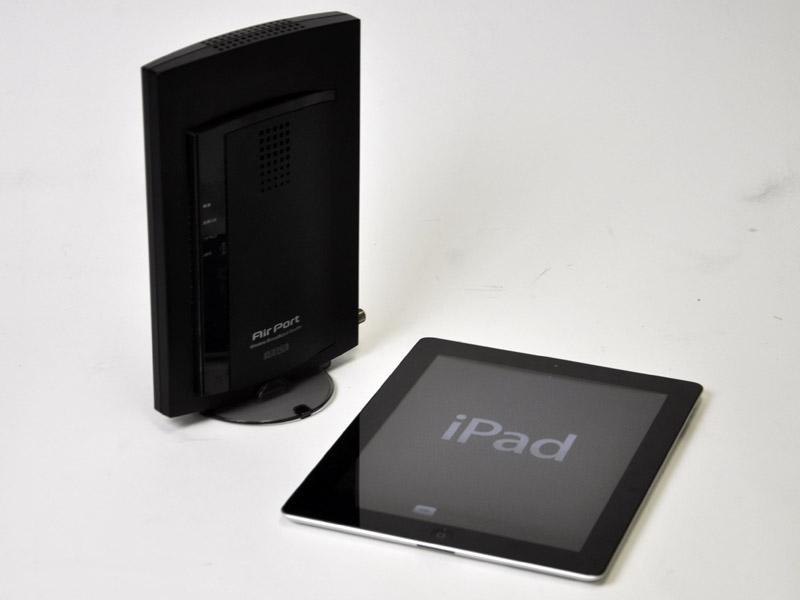 WN-G300TVGRとiPad