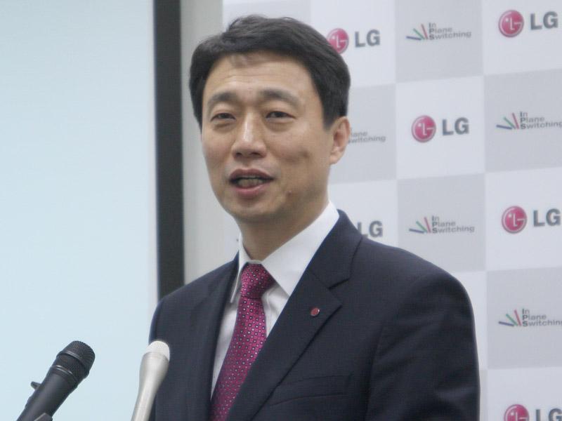LGエレクトロニクス・ジャパンの李起旭氏