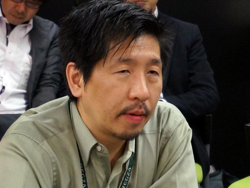 東芝 デジタルプロダクツ&サービス社プロダクト&ソーシャルインターフェース部 片岡秀夫氏