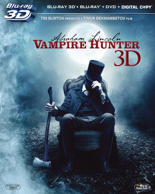 リンカーン/秘密の書 3枚組 3D・2Dブルーレイ&DVD&デジタルコピー 初回生産限定