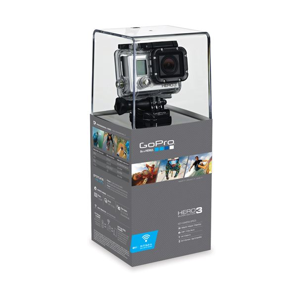 """GoPro HERO 3<br class="""""""">Silver Edition"""