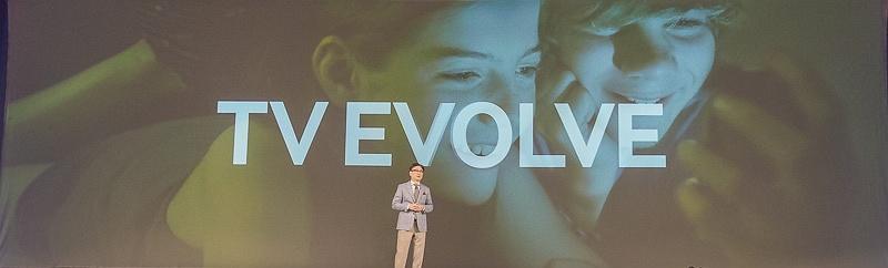 「テレビは進化する」とYoon社長