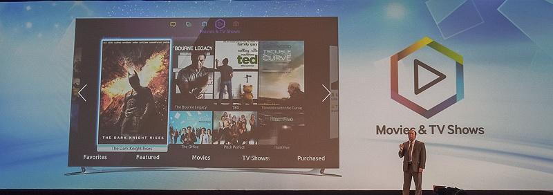 「Movies & TV Shows」でVODコンテンツの視聴が可能