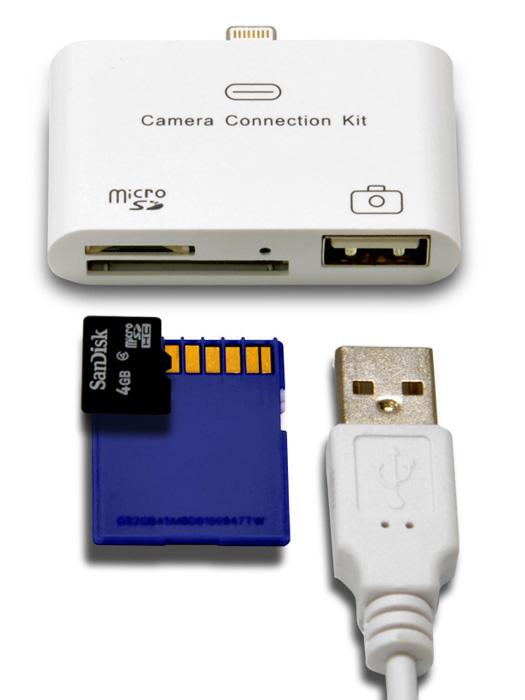 iPad用マルチカメラリーダー for Lightning(IPMCRL)