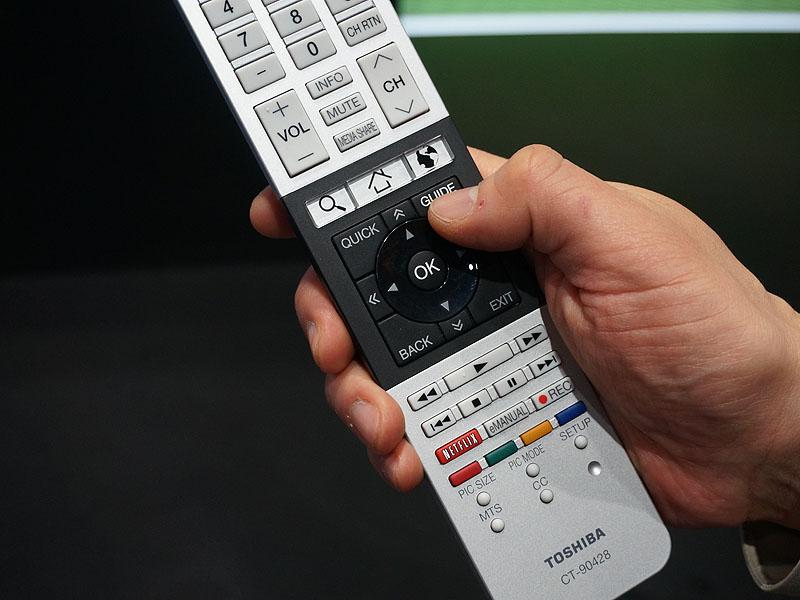 番組表(メディアガイド)は、リモコンの「MEDIAGUIDE」ボタンを押すと呼び出される