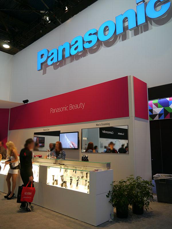 北米市場向けにPanasonic Beautyをアピール