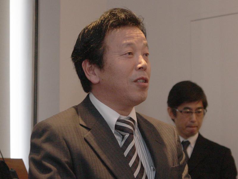 JVCケンウッドの今村智氏