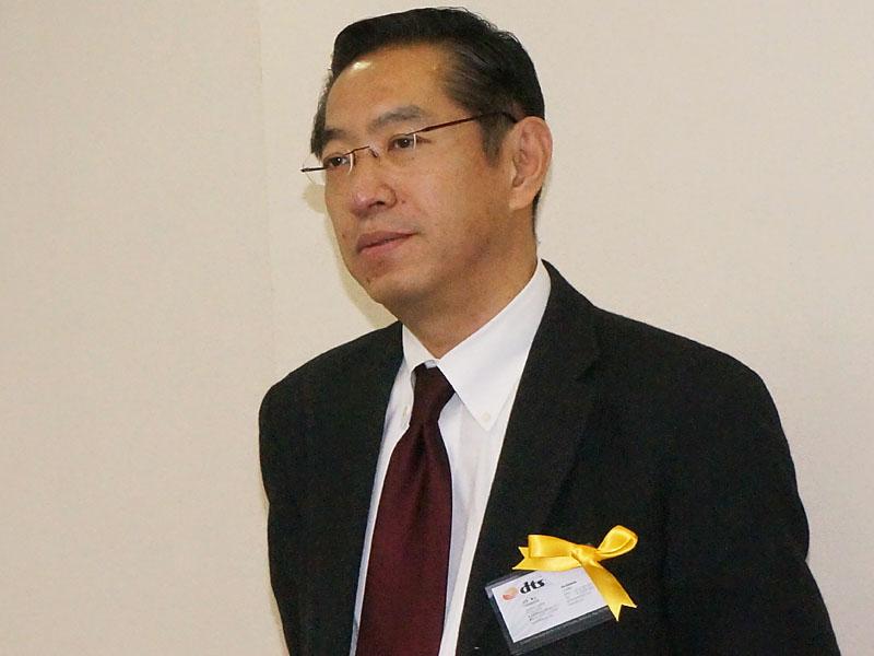 dts Japan代表取締役の小玉章文氏
