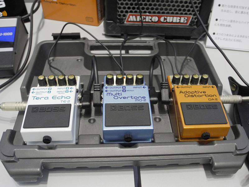 BOSSのギター用コンパクトエフェクト