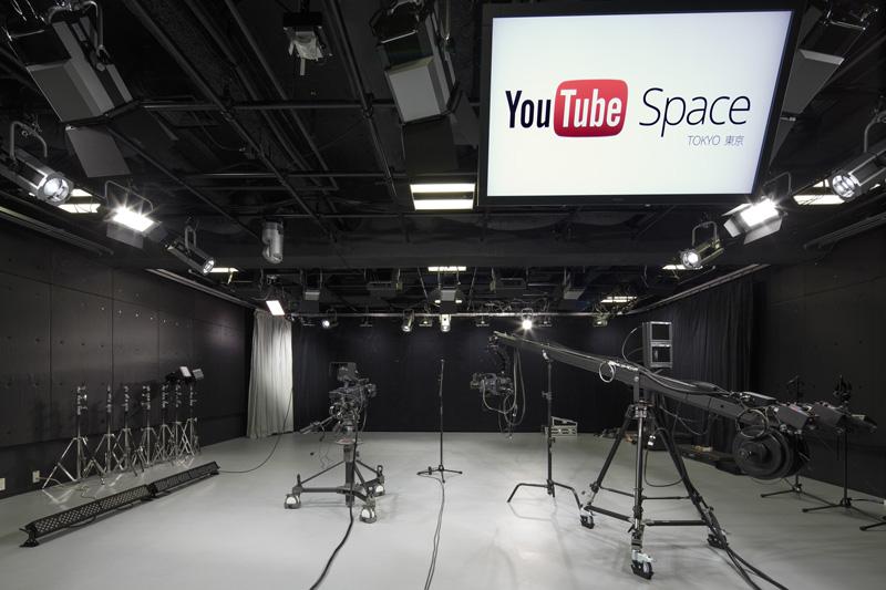 「YouTube Space Tokyo」のスタジオ1