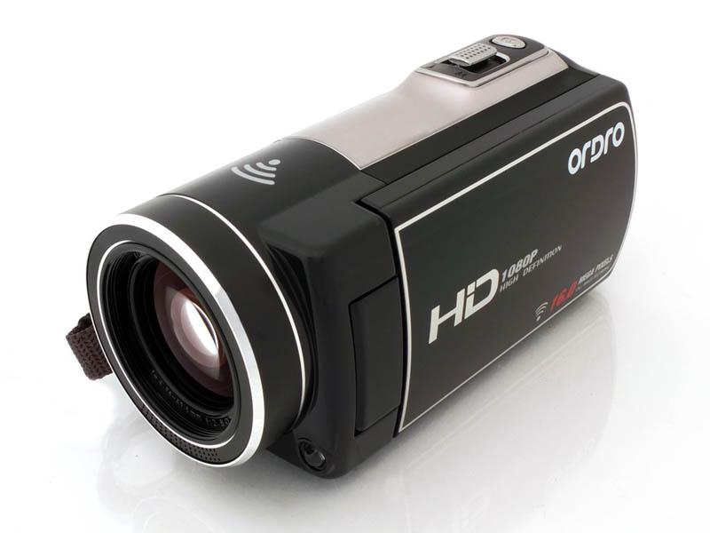 スマホ無線コントロール式デジタルビデオカメラ(HDV30W58)