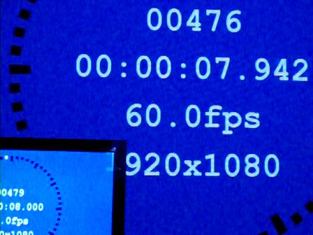 WirelessHD接続。映像処理=速い