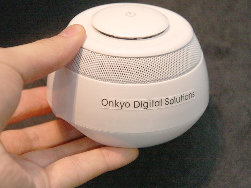 Bluetooth Vibration speaker WS-VX(仮称)