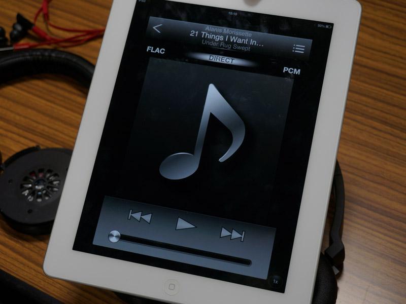DSDなどのハイレゾ音源に対応したアプリも