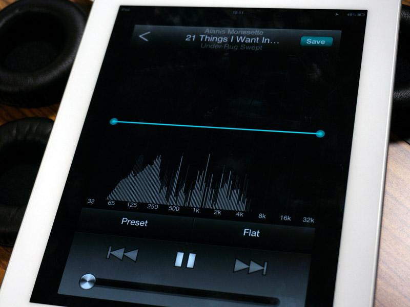 アプリにはイコライザを搭載。ヘッドフォン/イヤフォンにあわせた設定を提供予定という。アプリ名は未定