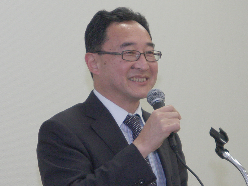 総務省大臣官房審議官の南俊行氏