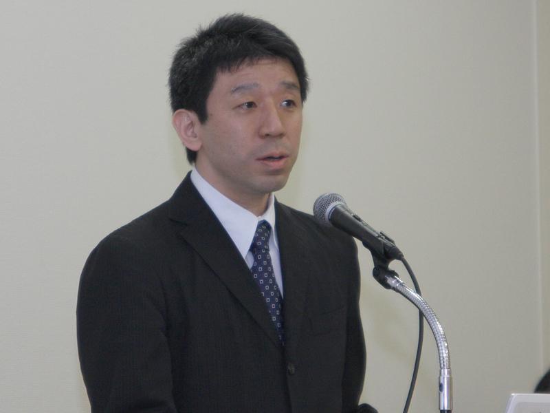 HTML5WG主任を務めるNHKの藤沢寛氏が、放送通信連携システム仕様などを説明