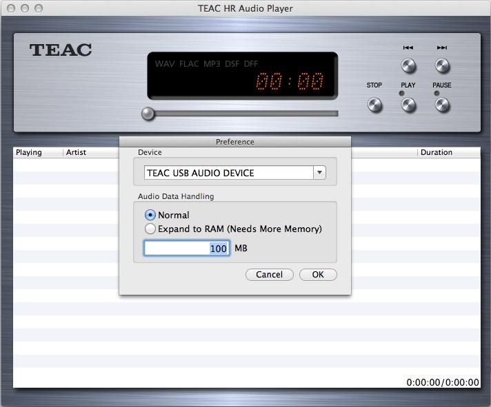 Macではドライバのインストールは不要