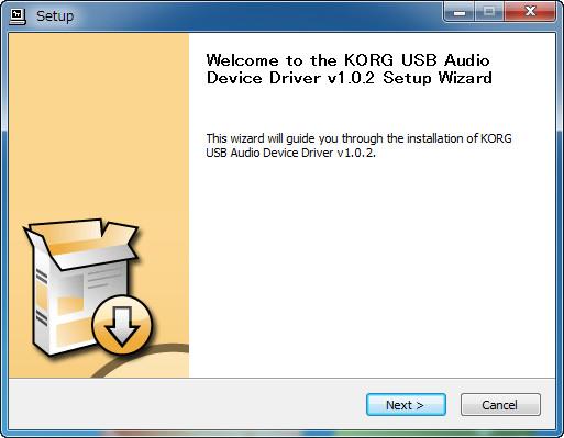 Macで利用する際はコルグのサイトにあるドライバをダウンロード/インストール