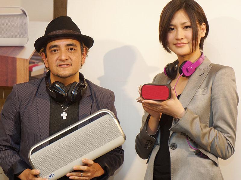 DJ TARO氏と坂井香さん