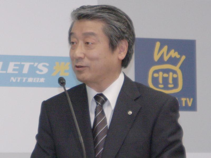 NTT東日本の中川裕副社長