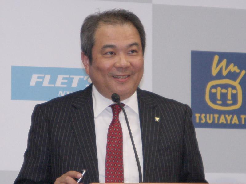 TSUTAYA.com社長の中西一雄氏