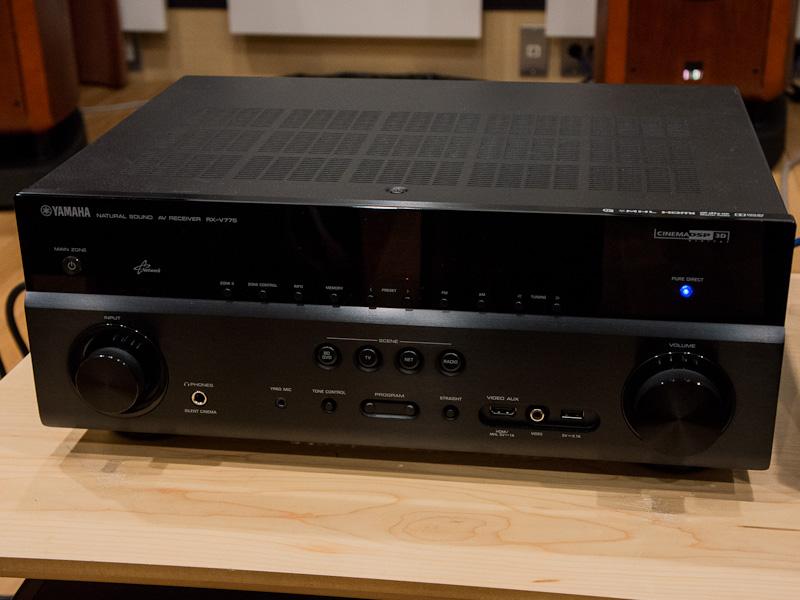 7.1ch AVアンプ「RX-V775」