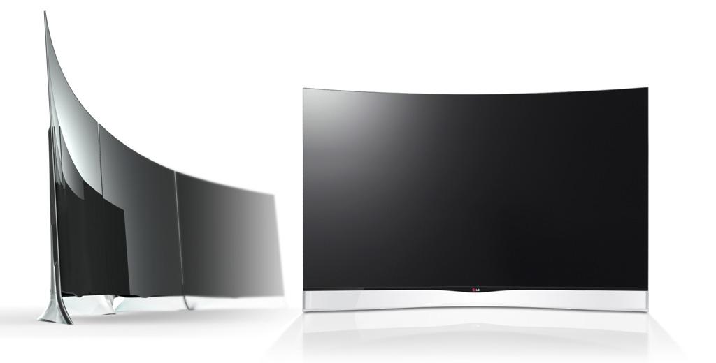 Curved OLED TV 55EA9800
