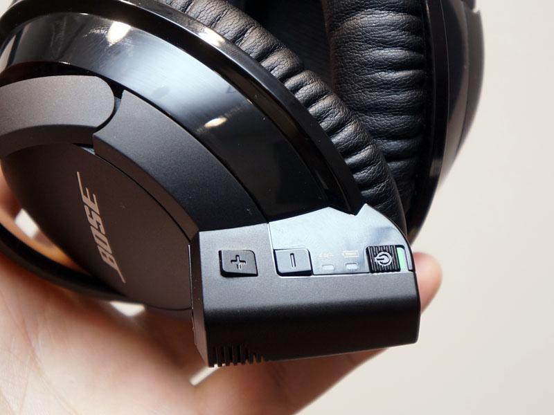 Bluetoothコントロールモジュールは左ハウジングに装着する