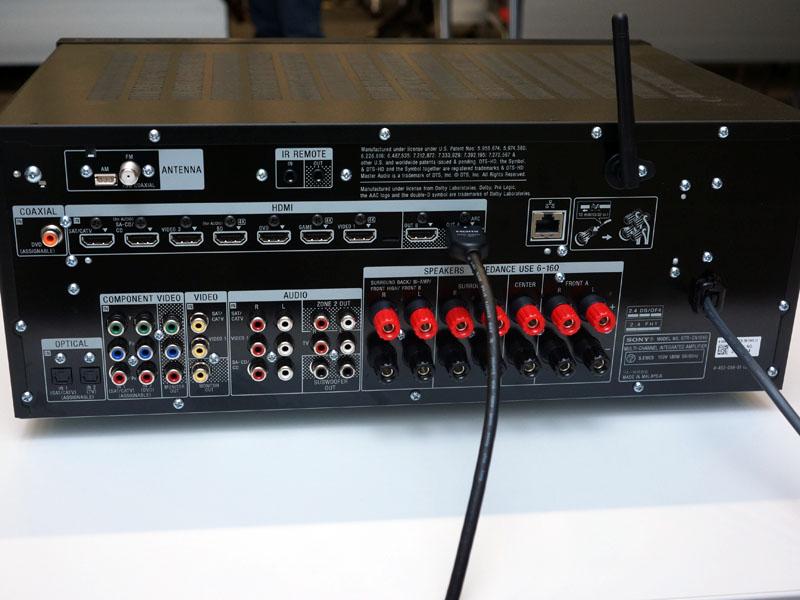 STR-DN1040の背面