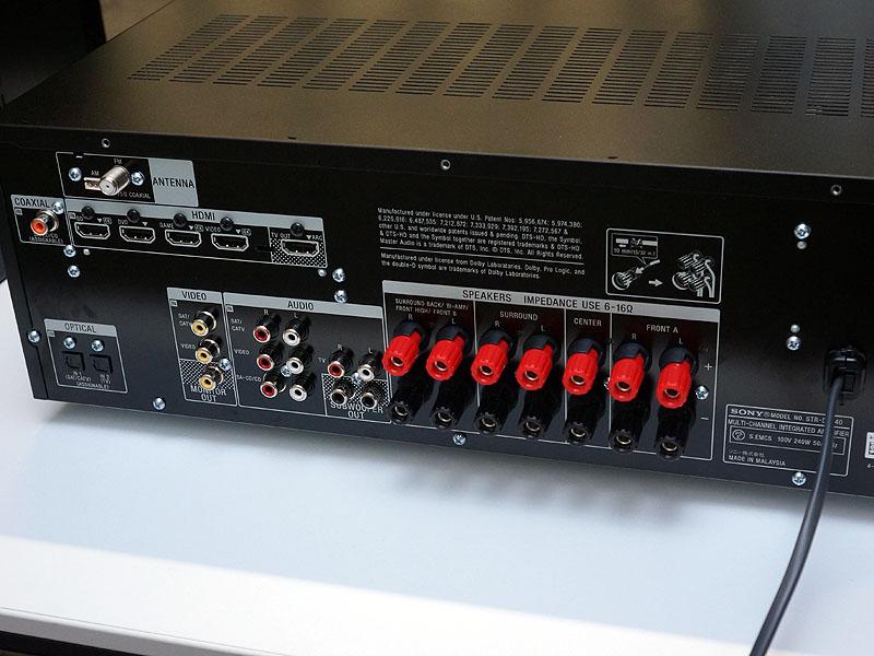 STR-DH740の背面